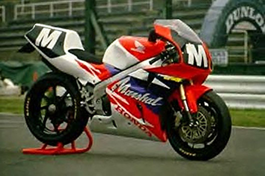 1993 Suzuka 8hr Marshals were the first to showcase the all-new RC45